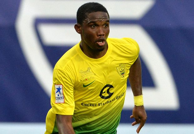 Eto'o staying at Anzhi, says Fifa agent Tirri
