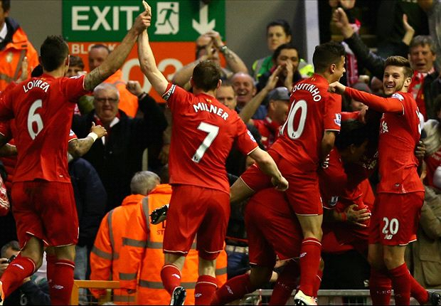 Liverpool 4-0 Everton: Reds thump 10-man Toffees in one-sided derby