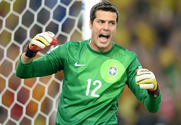 Scolari: Julio Cesar will be chosen for World Cup