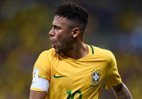 No Copa for Neymar, Silva or Luiz