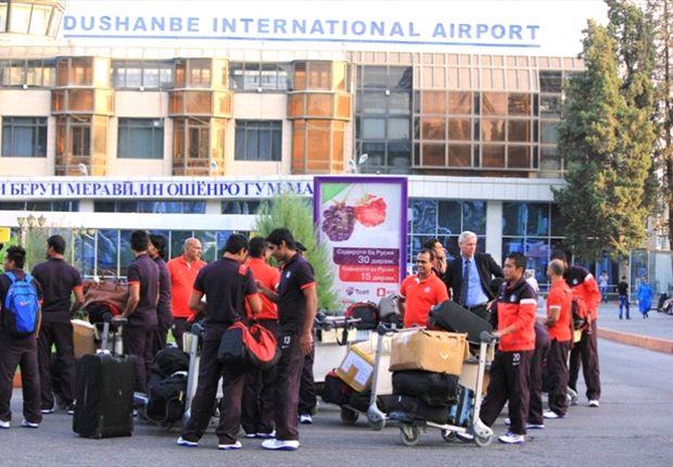 Indian national team in Tajikistan (Photos: AIFF Media)