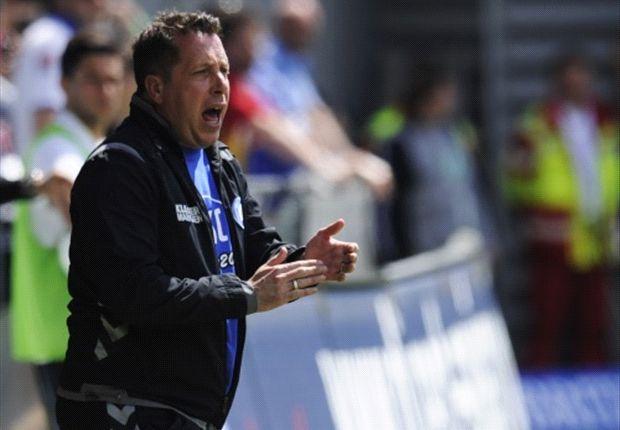 Karlsruhes Trainer Markus Kauczinksi will den Aufwärtstrend fortsetzen