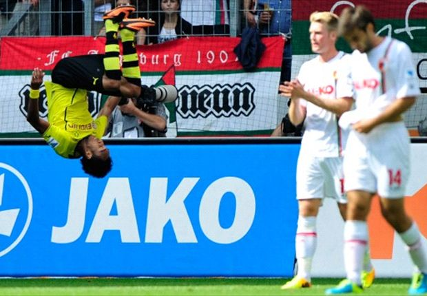 Bundesliga Round-up: Dream debut for Dortmund's Aubameyang