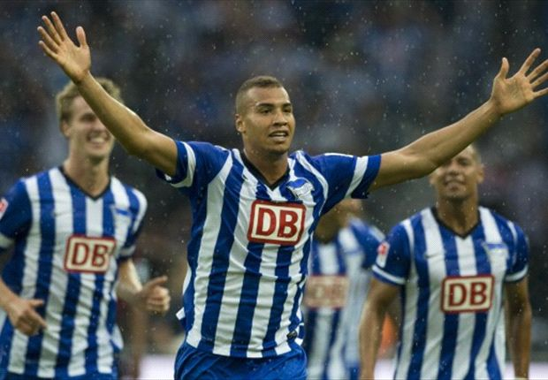 John Anthony Brooks scores in Bundesliga debut