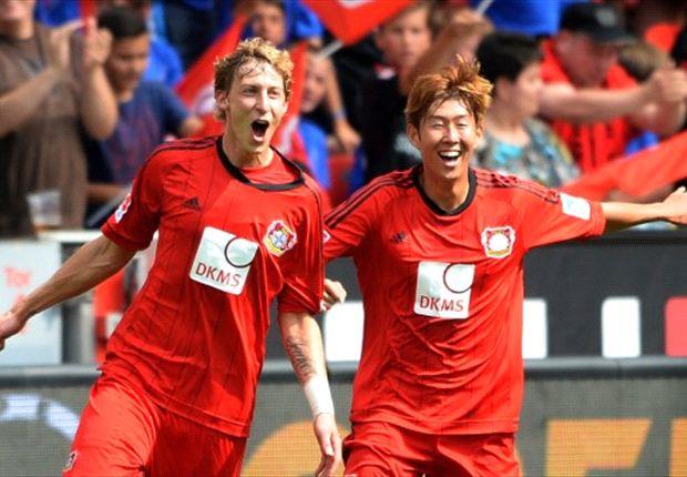 Gol pembuka Kiessling ke gawang Freiburg mengantarnya mengukir rekor