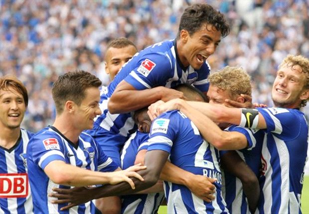 REVIEW Bundesliga Jerman: Hertha Berlin Pimpin Klasemen