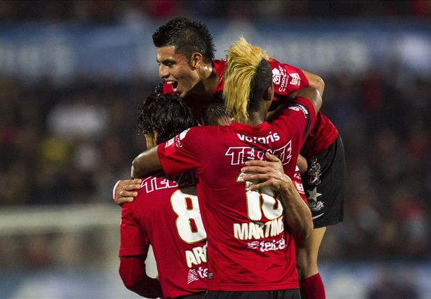 C.D. Victoria 2-3 Tijuana: Xolos overcome to top CCL group