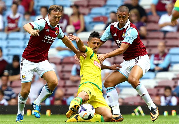 West Ham 2-1 Pacos De Ferreira: Morrison strikes early Hammer blow for Allardyce's men