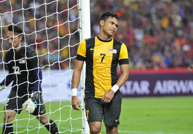 Aidil Zafuan had a good game but couldn't stop Qatar on Tuesday.