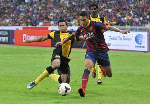 Barcelona were not their best against the Malaysian outfit last Saturday.
