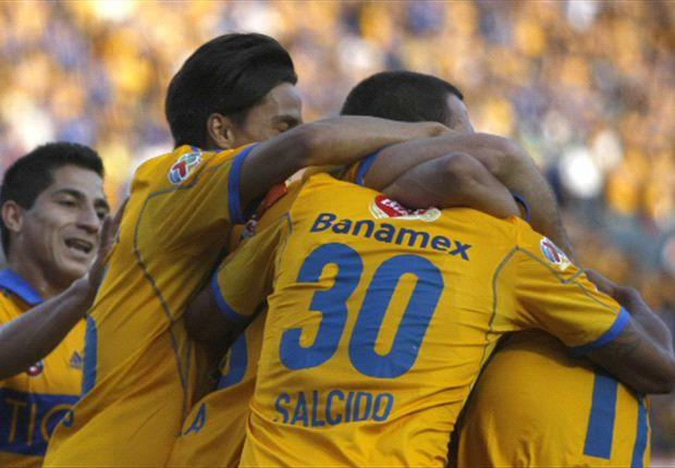 Tigres 2-2 Jaguares: Ninguno rugió más fuerte