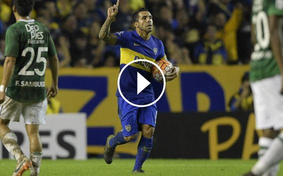 WATCH: Tevez's brilliant free-kick