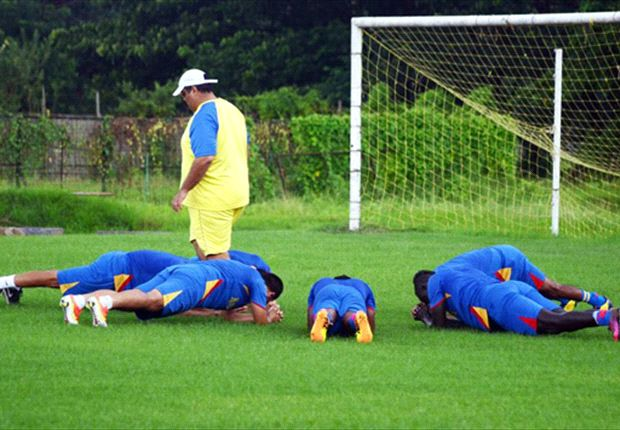 Falopa's training methods seem to the bane of contention (Photo: East Bengal)