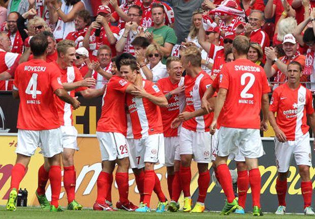 1. FSV Mainz 05 mit Traumstart: Müller und Okazaki sichern Sieg gegen Stuttgart