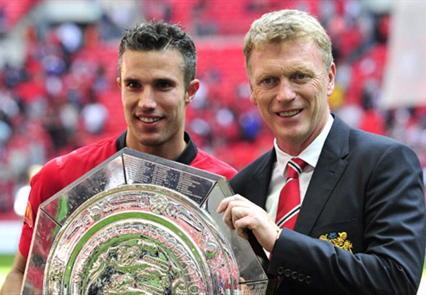 Moyes taunts Wenger over Van Persie: He won the title with Manchester United