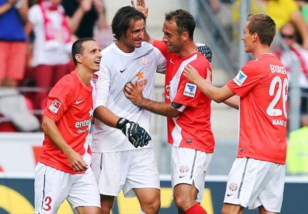 Die Mainzer wollen auch am zweiten Bundesliga-Spieltag wieder jubeln