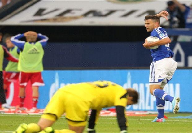 Adam Szalai sicherte dem FC Schalke 04 einen Punkt gegen den Hamburger SV