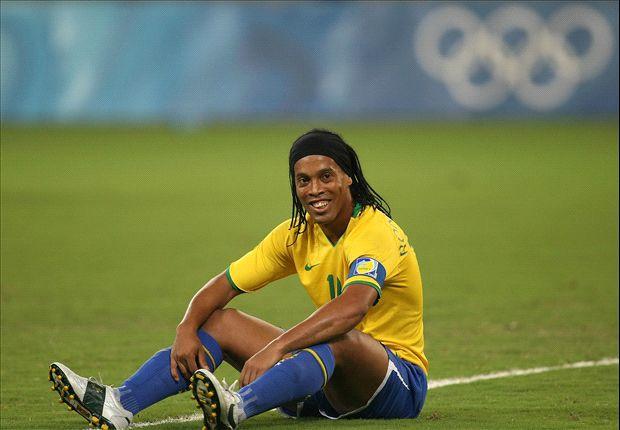 Rivaldo, Bebeto, Thiago Silva, Ronaldinho and Brazil's overage Olympians