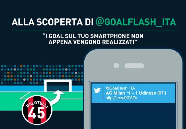 GoalFlash, il goal alert per il tuo cellulare!