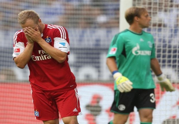 Für den Hamburger SV um Maximilian Beister reichte es auf Schalke zur zu einem Remis