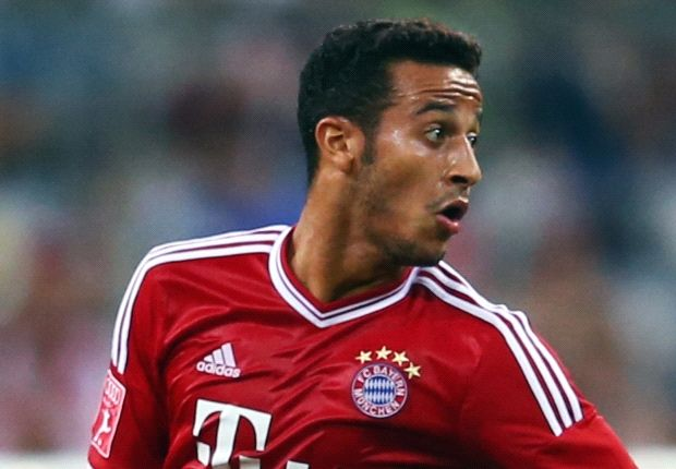 Bayern's Thiago out for seven weeks