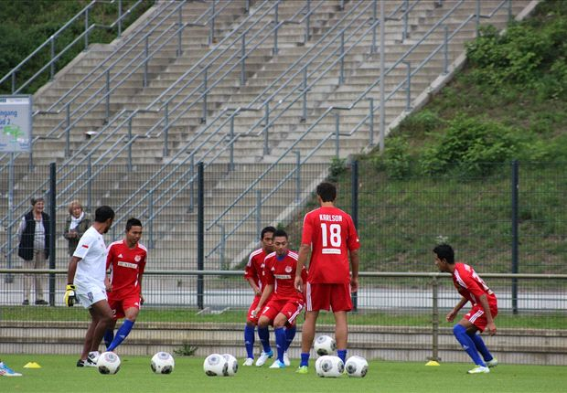 Pro Duta harus mengakui keunggulan pemain muda Hamburg