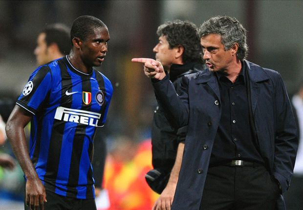 Eto'o eager for reunion with Chelsea boss Mourinho