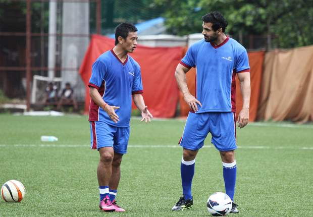 Bhaichung believes that IMG-Reliance's league will have the 'Becks' effect (Photo: IMG-Reliance)