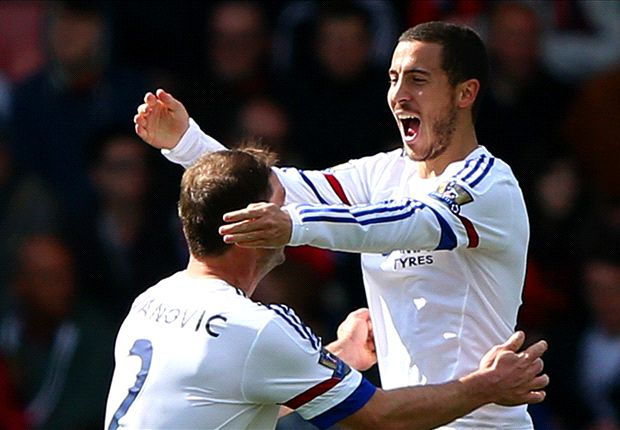 Bournemouth 1-4 Chelsea: Hazard scores two and Fabregas sets up three in easy win