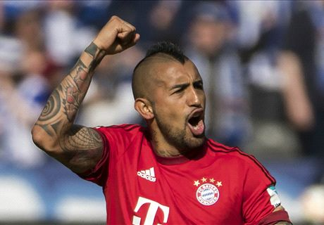 RATINGS: Vidal the star in Bayern win