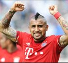 Vidal gets his kit off after Bayern win