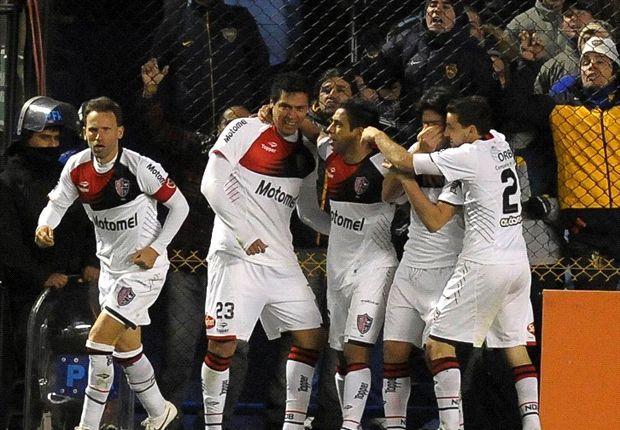 Boca Juniors 2-3 Newell's: Aquino y Casco toman la Bombonera