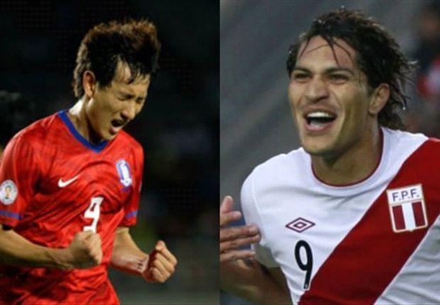 Perú sufrió para empatar ante Corea