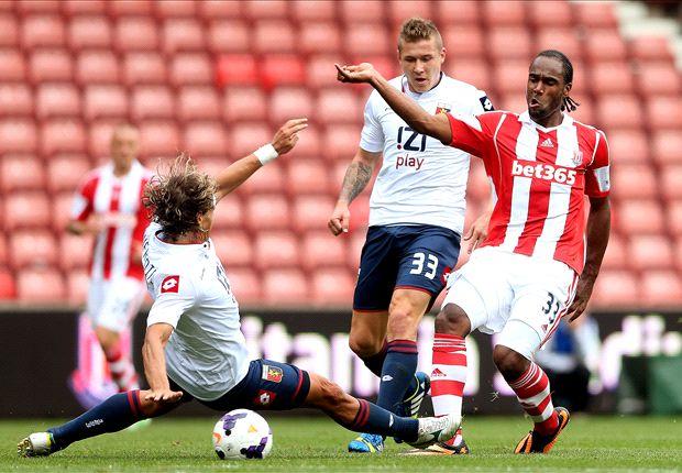 Stoke striker Jerome fined for betting breaches