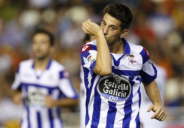Pizzi ya jugó como cedido en el Deportivo
