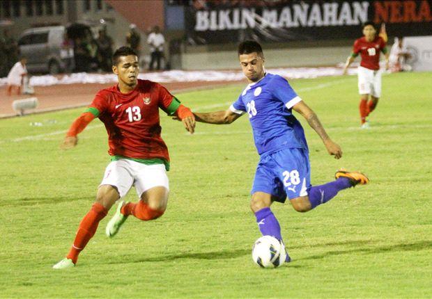 Indonesia menundukkan Filipina dua gol tanpa balas di Solo.