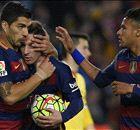 Poker Suarez, 'set' Barça: è di nuovo vetta