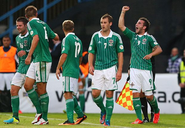 Northern Ireland 1-0 Russia: Paterson strike secures stunning first win for O'Neill