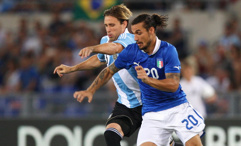 Las mejores imágenes de Italia - Argentina