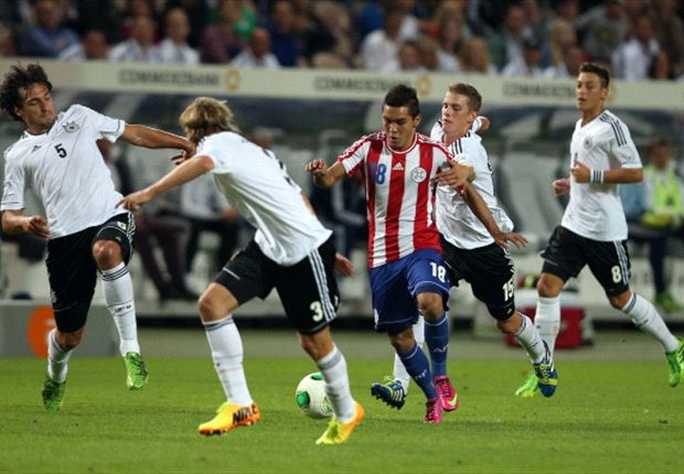 Germany 3-3 Paraguay: Low blow avoided as Bender snatches draw