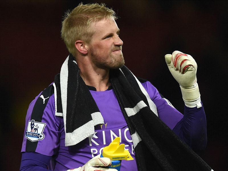 Peter and Kasper Schmeichel become the second father-son duo to win the Premier League