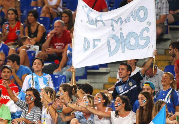En Argentina ya jugamos el Mundial.