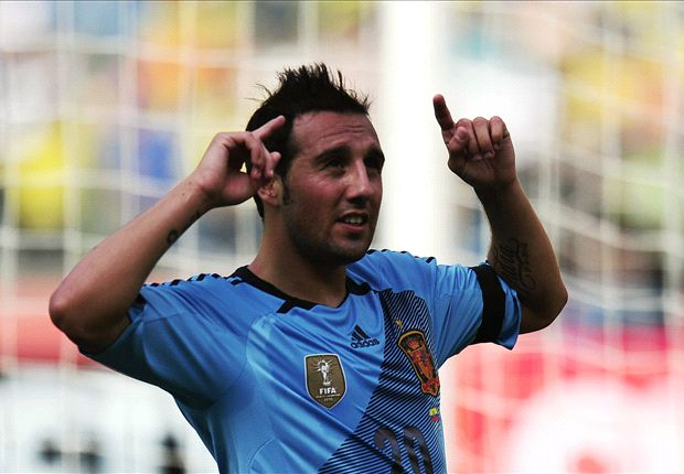 Ecuador 0-2 Spain: Negredo nets in facile win for la Roja