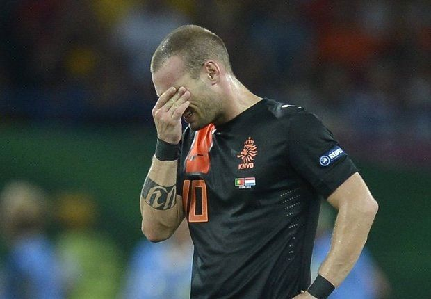 Sneijder left out of Netherlands squad again