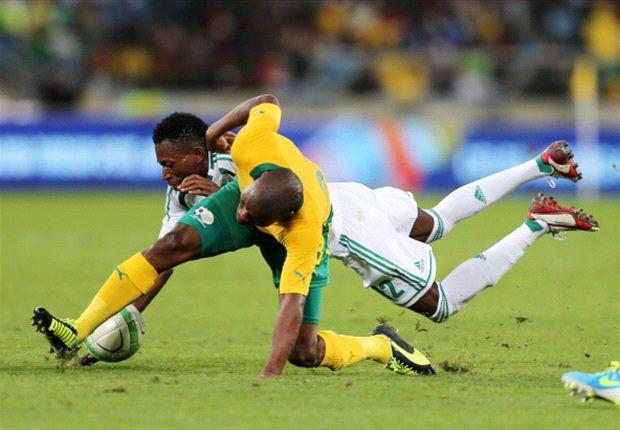 What did Bafana Bafana learn against Nigeria and Burkina Faso?