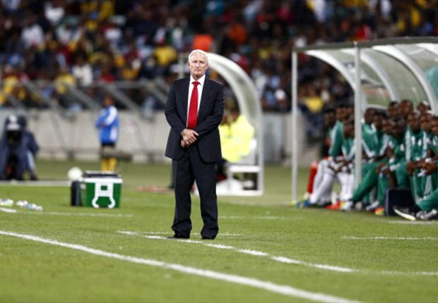 Gordon Igesund faces up to Bafana's football lesson by Nigeria