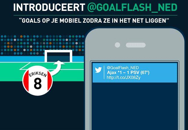 Goal introduceert GoalFlash - Goal-alerts op jouw mobiel!