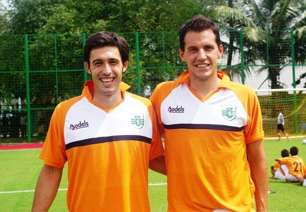 New signings Arturo Navarro Garcia (L) and Gonzalo Hinojal Neila (R)