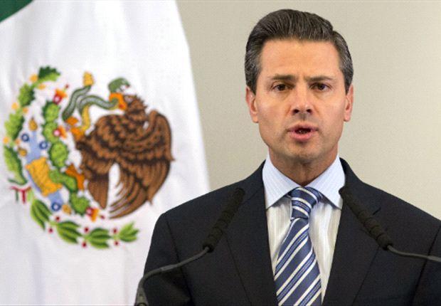 Peña Nieto ofrece respaldo al Tri