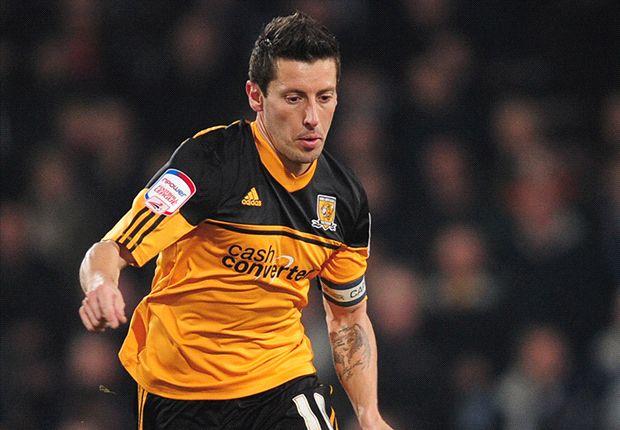 Robert Koren kapten Hull City.